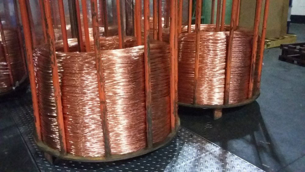MACHINARY MICROROLLING MILL 1 E 2 Mill Process for Self Annealed Copper Wire