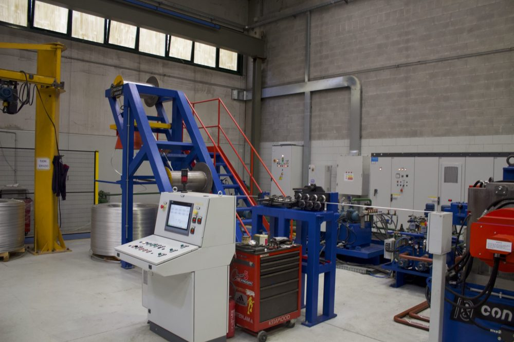 TECHNOLOGY MACHINARY PRO FORM 1 e 2 Continuus Properzi Rotary Extrusion Sistem copia